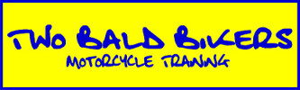 Two Bald Bikers Motorcycle Training Logo